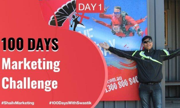 100 Days Marketing Challenge