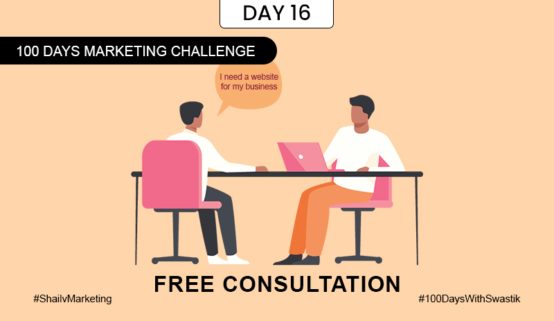 Free Consultation – 100 Days Marketing Challenge