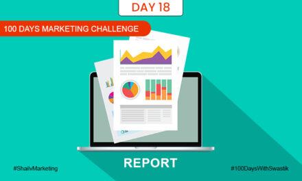 Report – 100 Days Marketing Challenge