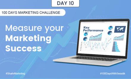 Measuring your marketing success – 100 Days Marketing Challenge