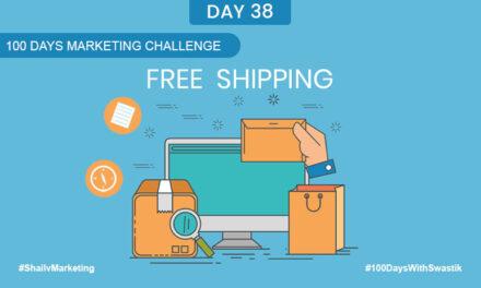 Free Shipping- 100 Days Marketing Challenge