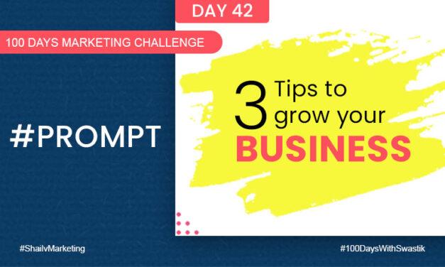Prompt- 100 Days Marketing Challenge