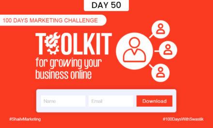 Toolkit – 100 Days Marketing Challenge