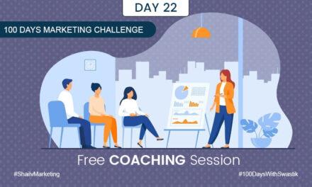 Free Coaching Session – 100 Days Marketing Challenge