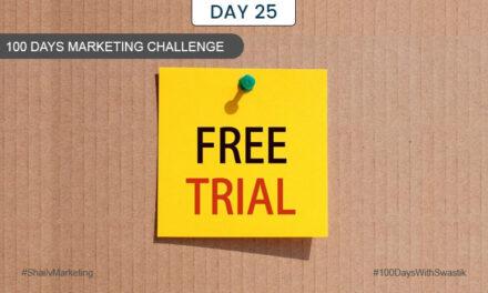 Free Trial – 100 Days Marketing Challenge