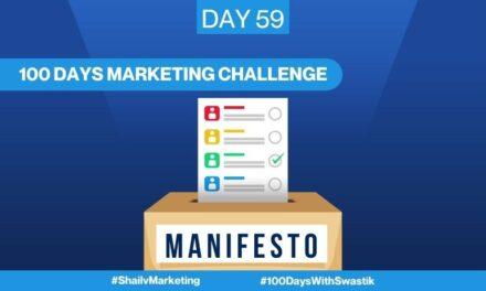 Manifesto – 100 Days Marketing Challenge