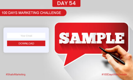 Sample – 100 Days Marketing Challenge