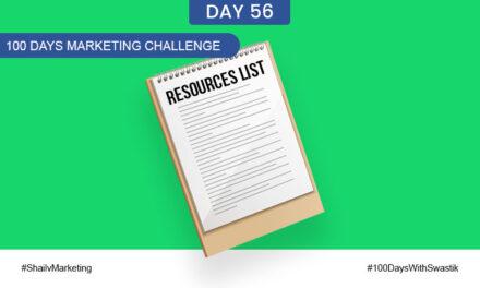 Resources List – 100 Days Marketing Challenge