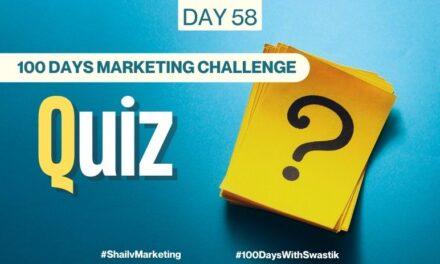 Quiz – 100 Days Marketing Challenge