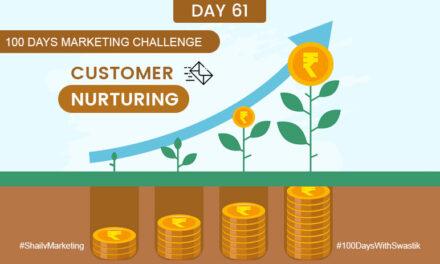 Customer Nurturing – 100 Days Marketing Challenge