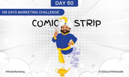 Comic Strip – 100 Days Marketing Challenge