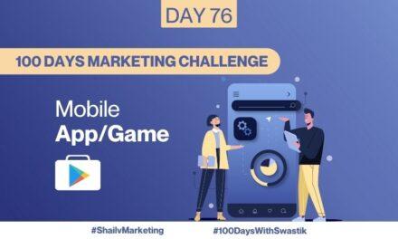 Mobile App/Game – 100 Days Marketing Challenge