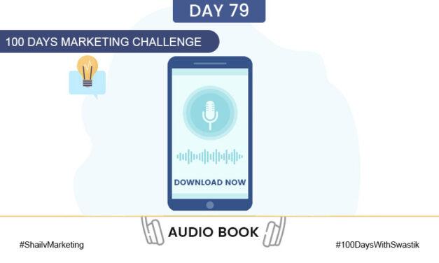 Audio Book – 100 Days Marketing Challenge