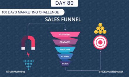 Sales Funnel – 100 Days Marketing Challenge