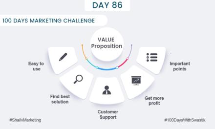 Value Proposition – 100 Days Marketing Challenge
