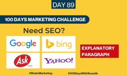 Need SEO – 100 Days Marketing Challenge