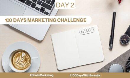 Checklist – 100 Days Marketing Challenge