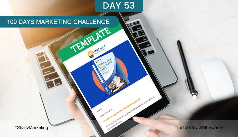 Template – 100 Days Marketing Challenge